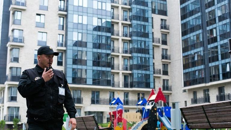 Охрана жилых комплексов и многоквартирных домов в Москве